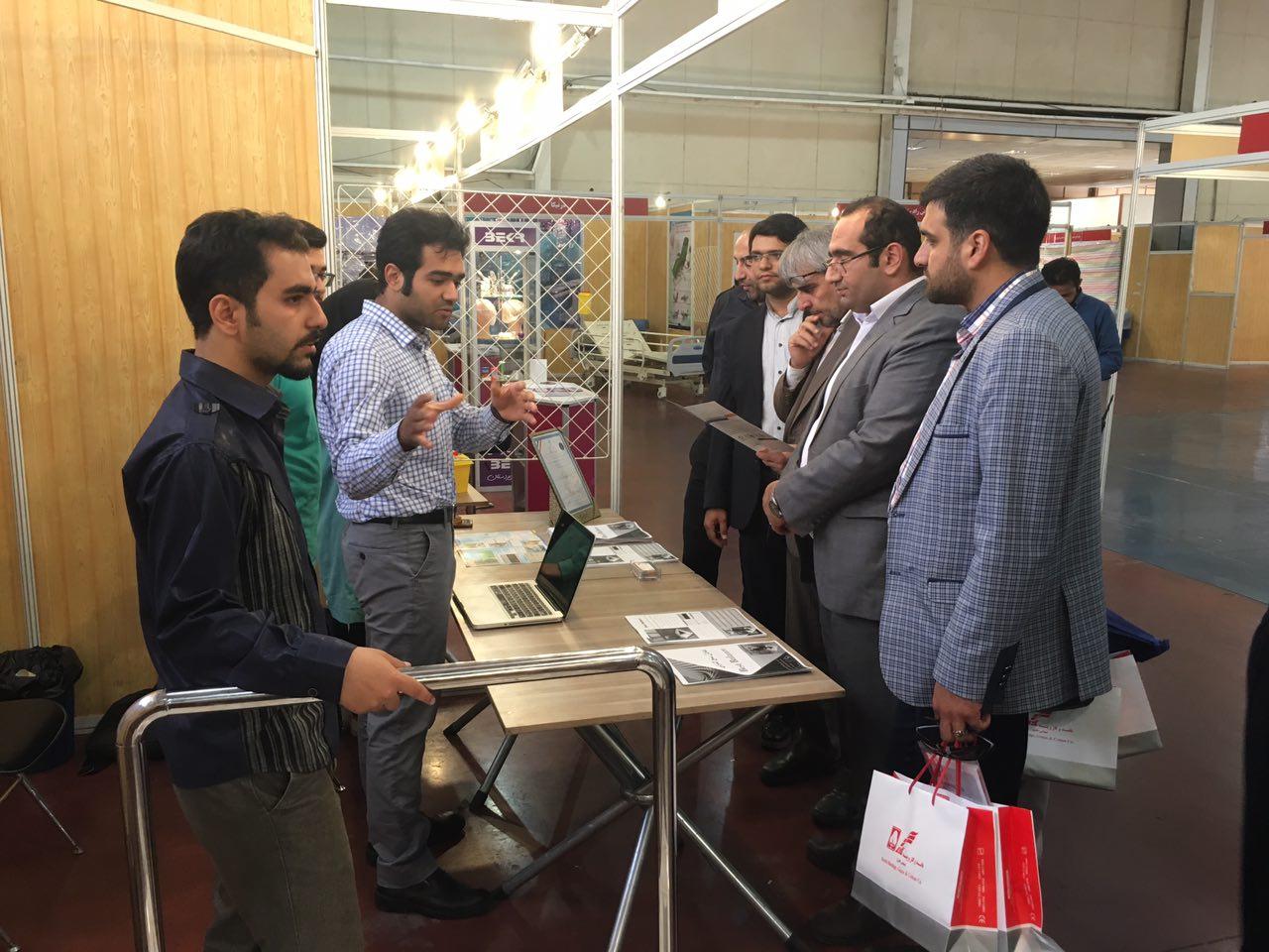 حضور شرکت مهندسی پژوهندگان مکاترونیک آریانا در چهارمین نمایشگاه تخصصی تجهیزات پزشکی قزوین