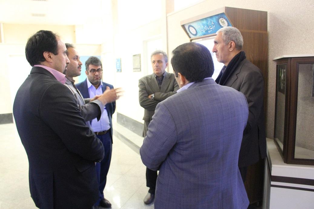 بازدید مدیر کل دفتر توسعه فناوری سلامت وزارت بهداشت درمان و آموزش پزشکی
