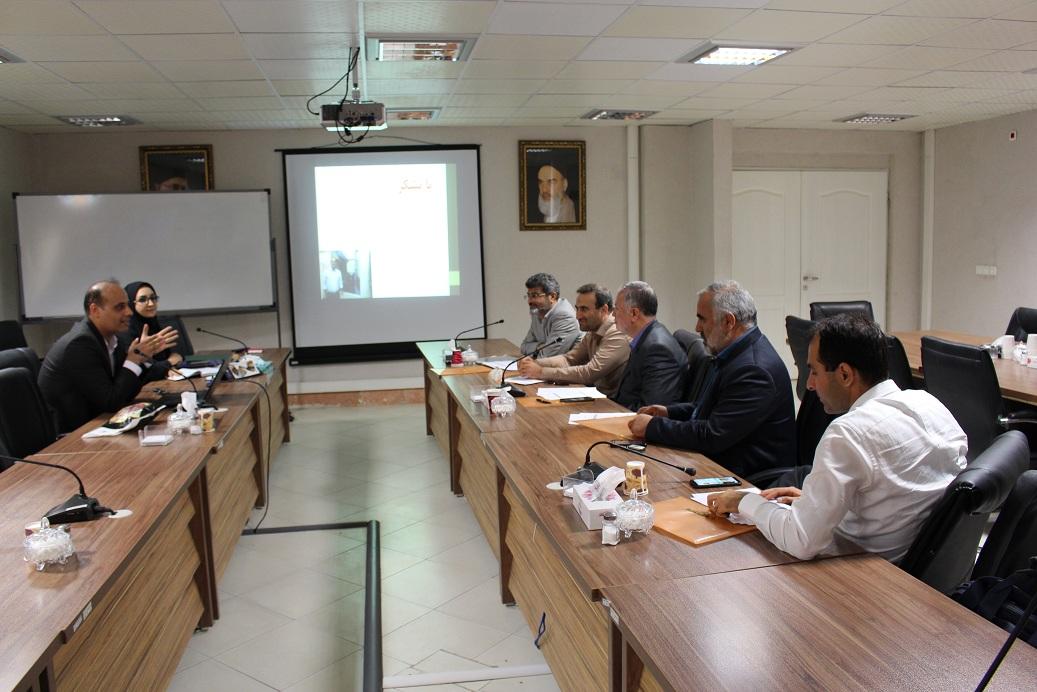نوزدهمین جلسه شورای پارک علم و فناوری قزوین برگزار شد