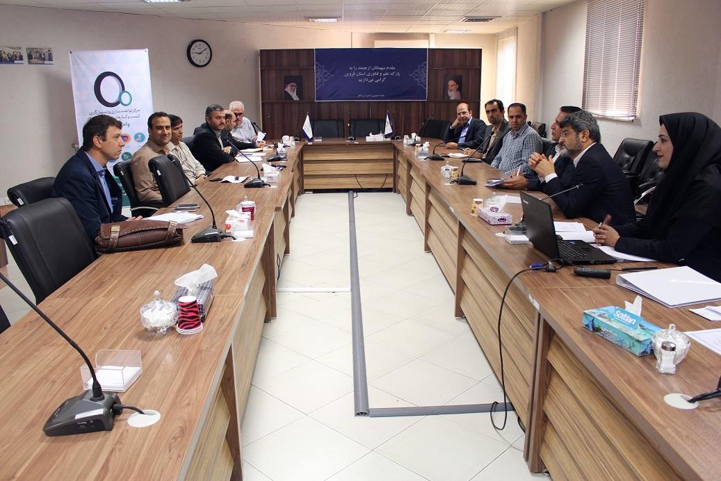 پنجمین جلسه کمیته راهبری مرکز توانمندسازی و تسهیلگری کسبوکارهای نوپای فاوا قزوین برگزار شد