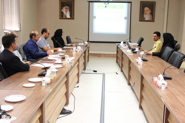 پنجاه و چهارمین جلسه شورای مرکز رشد پارک علم و فناوری قزوین برگزار شد