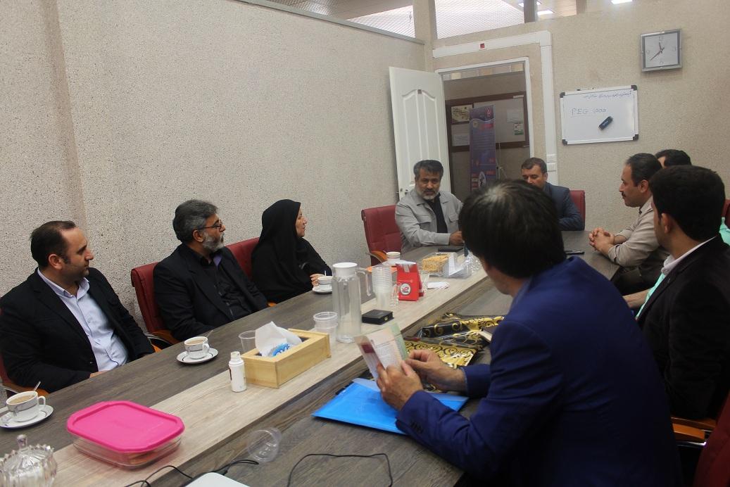بازدید مسئول اداره تعاون زندان های استان از پارک علم و فناوری قزوین