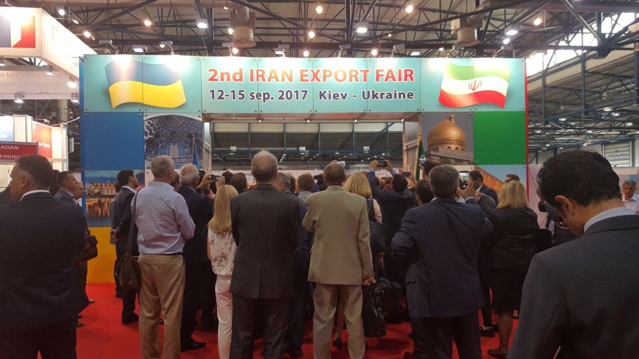 مشارکت پارک علم و فناوری استان قزوین در نمایشگاه اختصاصی ایران در اوکراین