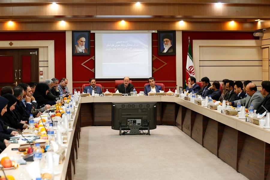 استاندار قزوین در نشست با شورای هماهنگی روابط عمومی های استان گفت:مدیران،اقناع افکار عمومی را جدی بگیرند