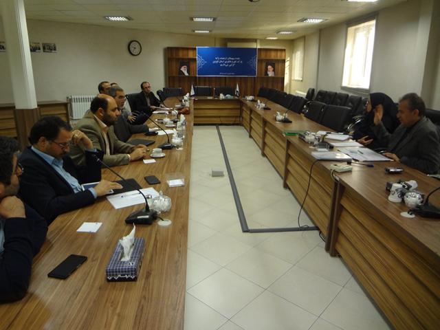 هفدهمین جلسه شورای هماهنگی مراکز رشد استان برگزار شد