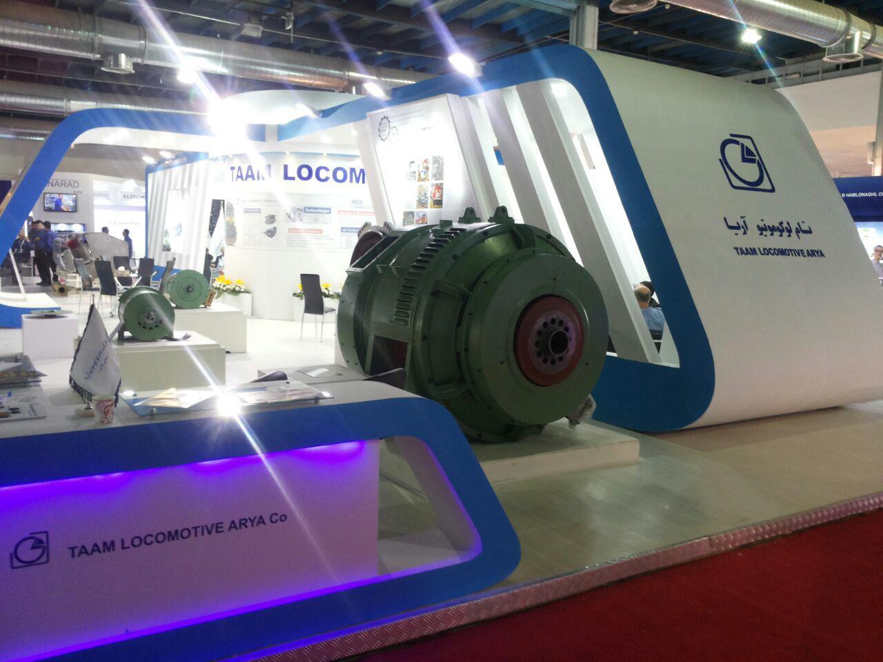 پنجمین نمایشگاه بینالمللی حمل و نقل ریلی با حضور واحد فناور پارک علم و فناوری قزوین برگزار شد